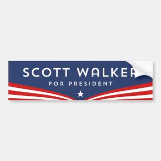 Caminhante de Scott para o presidente Adesivo Para Carro