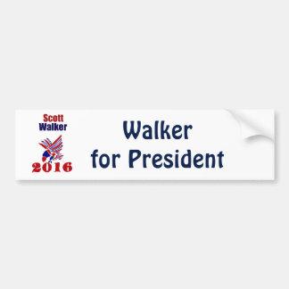 Caminhante de Scott para o presidente Político Adesivo Para Carro