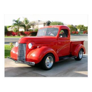 Caminhão 1940 de Chevy Cartao Postal