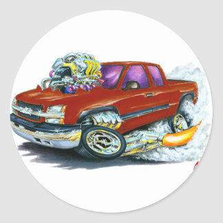 Caminhão 2003-06 marrom de Silverado Adesivos Em Formato Redondos
