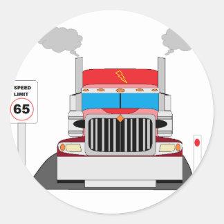 caminhão adesivo