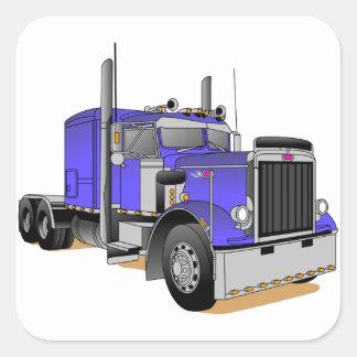 Caminhão Adesivo Quadrado