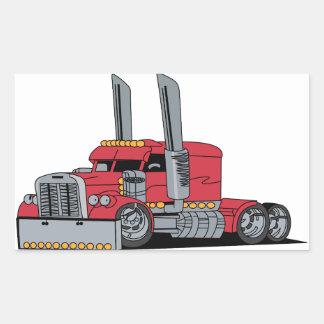 Caminhão Adesivo Retangular