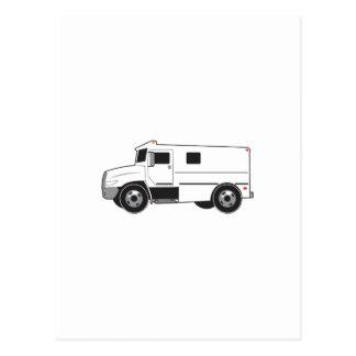 Caminhão blindado cartão postal