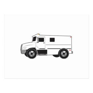 Caminhão blindado cartoes postais