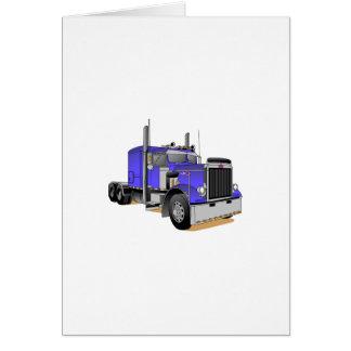 Caminhão Cartão Comemorativo