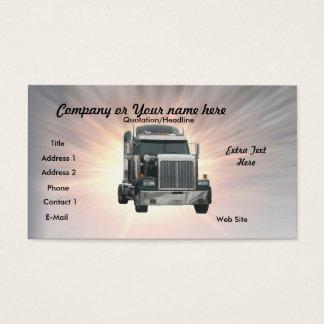 Caminhão Cartão De Visitas