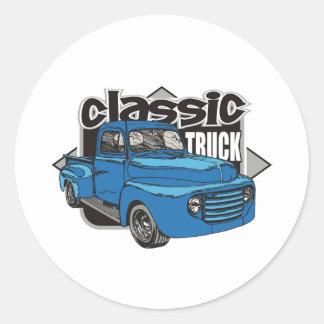 Caminhão clássico adesivo