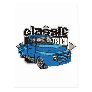 Caminhão clássico cartoes postais