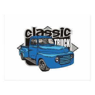 Caminhão clássico cartões postais