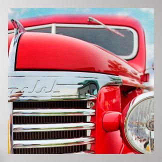 Caminhão clássico de Chevrolet Pôster
