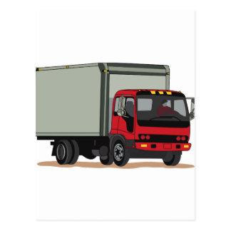 Caminhão da carga cartão postal
