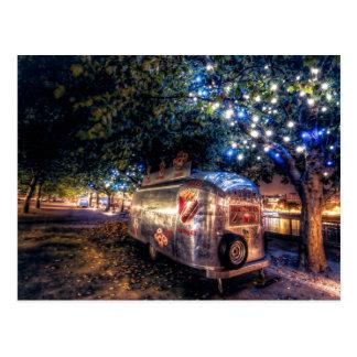 Caminhão da comida de Southbank, Londres Cartoes Postais