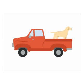 Caminhão da fazenda cartão postal