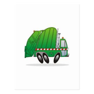 Caminhão da recusa cartão postal