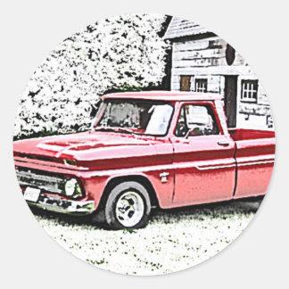 Caminhão de Chevy Adesivo