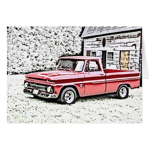 Caminhão de Chevy Cartao