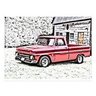 Caminhão de Chevy Cartões Postais