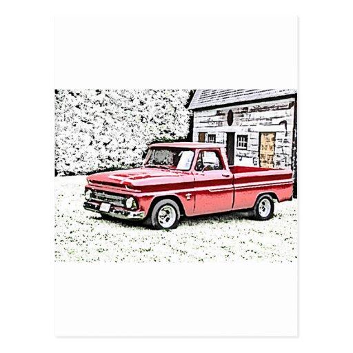 Caminhão de Chevy Cartoes Postais