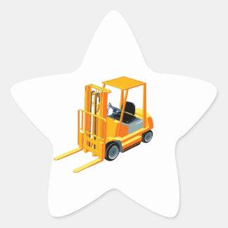 Caminhão de empilhadeira (a.k.a. caminhão de adesito estrela