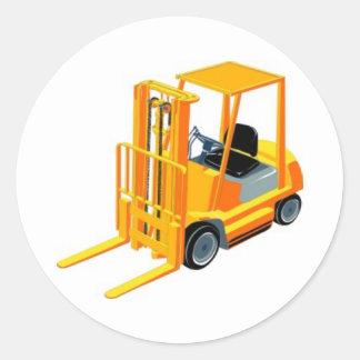 Caminhão de empilhadeira (a.k.a. caminhão de adesivo