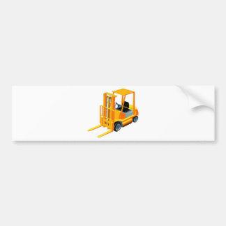 Caminhão de empilhadeira (a.k.a. caminhão de adesivo para carro
