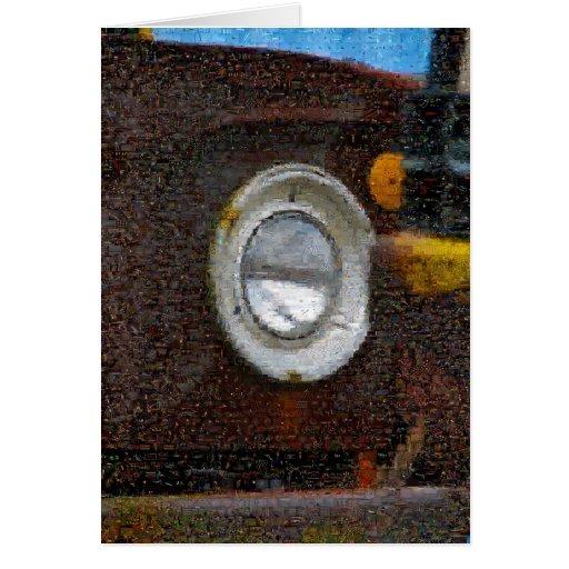 Caminhão de oxidação Montaged de Dodge Cartao