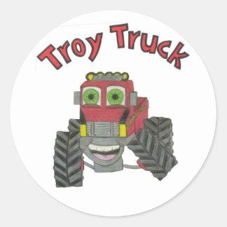 Caminhão de Troy Adesivo