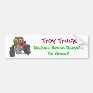Caminhão de Troy Adesivo Para Carro