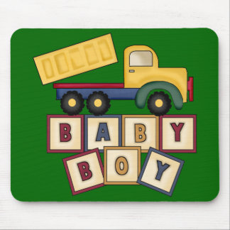 Caminhão do brinquedo do bebé mouse pad