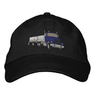 Caminhão do cascalho boné bordado