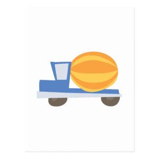Caminhão do cimento cartão postal