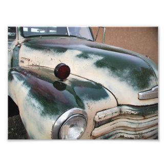 Caminhão do clássico do vintage impressão de foto