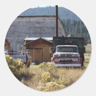 Caminhão do rancho adesivo