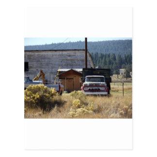 Caminhão do rancho cartão postal
