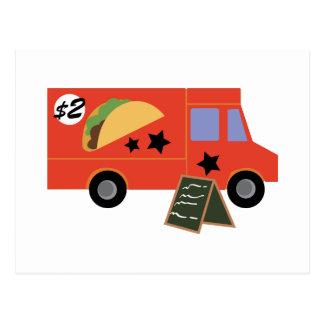 Caminhão do Taco Cartão Postal