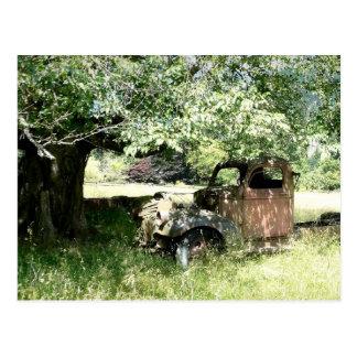 Caminhão do toxicómano do fazendeiro que oxida cartão postal