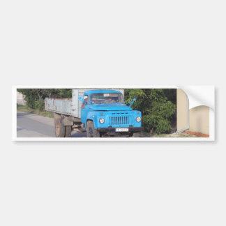 Caminhão do veterano adesivo para carro