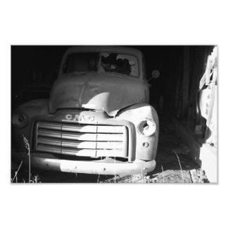 Caminhão do vintage de GMC - impressão da foto Impressão De Foto