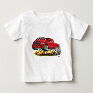 Caminhão duplo vermelho do táxi de Dodge SRT10 Camiseta Para Bebê