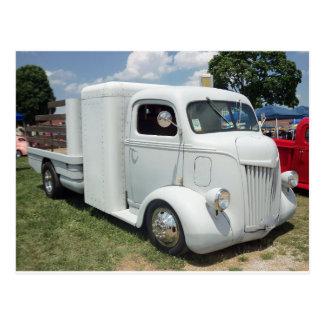 Caminhão quente branco de Tod Cartão Postal
