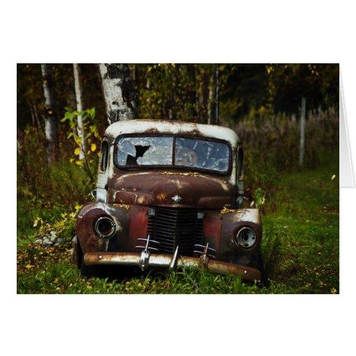 Caminhão velho cartões