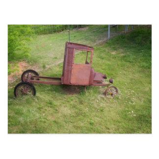 Caminhão velho cartão postal