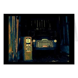 Caminhão velho de GMC Cartão Comemorativo