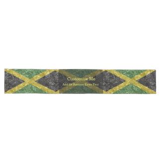 Caminho De Mesa Grande Bandeira jamaicana - enrugada