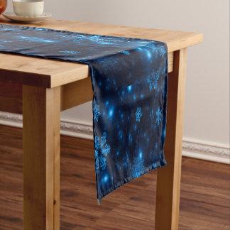Caminho De Mesa Grande Corredor azul & brilhante profundo da mesa dos