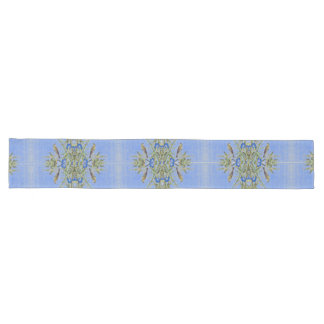 Caminho De Mesa Grande Corredor azul de bambu da mesa das flores dos