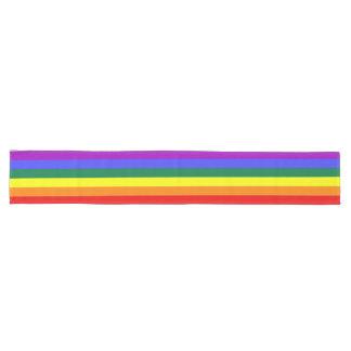"""Caminho De Mesa Grande Orgulhe-se o arco-íris 16"""" X 108"""" grande corredor"""