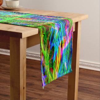 Caminho De Mesa Médio Abstrato de incandescência do arco-íris