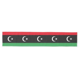 Caminho De Mesa Médio Bandeira de Líbia